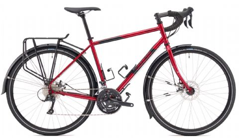 Genesis Tour de Fer 10 Adventure Bike Red 2018 -